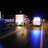 Unfallopfer verstorben