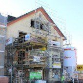 Historische Mühle nimmt neue Gestalt an