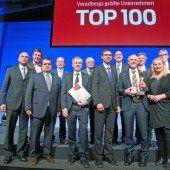 Top-100-Unternehmen im Scheinwerferlicht