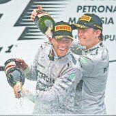 Historischer Sieg für Mercedes-Duo