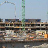 Wohnanlage in Bregenz wächst