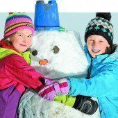 Spät aber doch: Der Winter gibt ein kurzes Gastspiel im Land