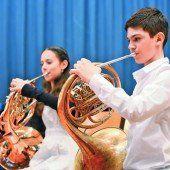 Musiker im Preisregen