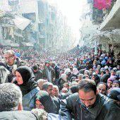 Drei Jahre Syrienkrieg führten zur größten humanitären Katastrophe