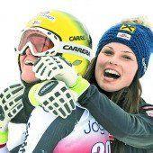 Doppelsieg für die Skidamen