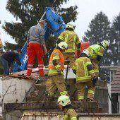 Mauer umgestürzt: Arbeiter (43) tot