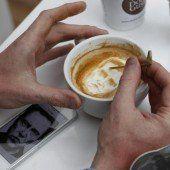Koffeinhaltige Kunst