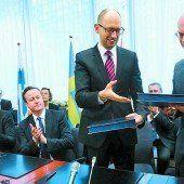 EU besiegelt Pakt mit der Ukraine