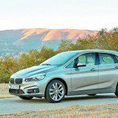 BMW bestreitet mit erstem Van neue Wege