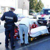 Fußgängerin in Höchst von Pkw niedergestoßen