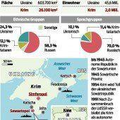 Russische Soldaten auf der Krim gelandet