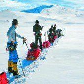 Vulkan in der Antarktis bezwungen