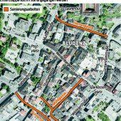 Neuer Abwasserkanal für die Bludenzer Innenstadt