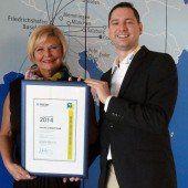 Aviation Excellence Award für InterSky
