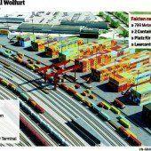 Neuer Güterbahnhof wird größer als geplant