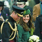 Kate und William feierten St. Patricks Day