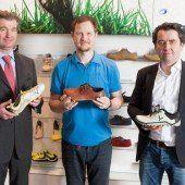 Innovative Schuhe kommen nach Vorarlberg