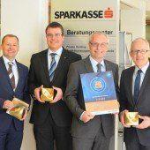 Sparkassen Egg und Feldkirch erfolgreich