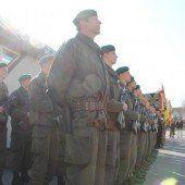 Treuegelöbnis von 34 Rekruten in Wolfurt