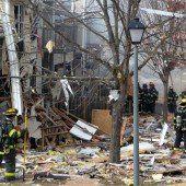 Explosion verwüstet Wohnviertel