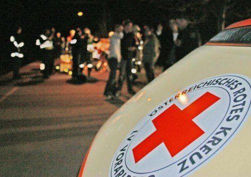 Für den verunglückten 61-Jährigen kam jede Hilfe zu spät.  Foto: VN