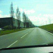 Rad- und Fußweg für die Sicherheit
