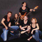 Sechs Frauen mit Rhythmus im Blut