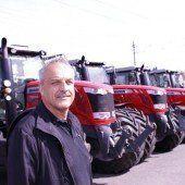 Schöne Landmaschinen zum 40. Geburtstag