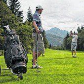 Golfspielen im Kaiserwinkl
