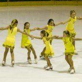 Choreographie auf glattem Parkett
