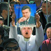 Janukowitsch heizt Konflikt an