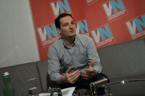 Jürgen Fässler, Obmann der JVP, wurde als Kandidat für die Landtagswahl im Herbst nominiert. FOTO: VN/HARTINGER