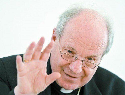 Kardinal Christoph Schönborn stellte gestern als Vorsitzender die Ergebnisse der Bischofskonferenz in Wien vor. Foto: APA