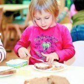 Gesunde Ernährung für Kindergarten-Kinder