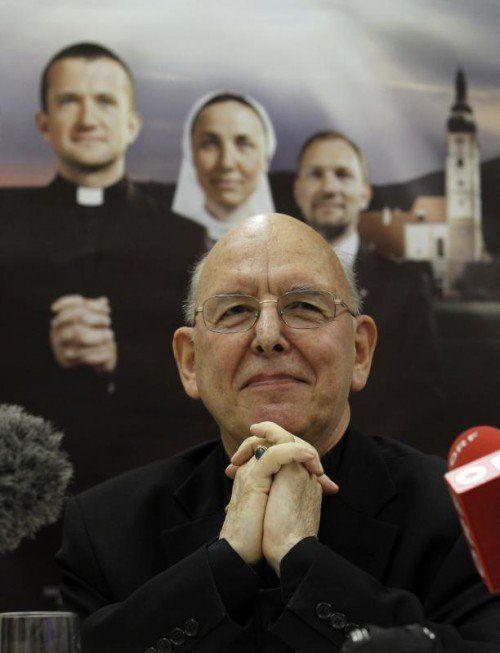 Bischof Klaus Küng hat sein erstes Buch verfasst. Foto: apa