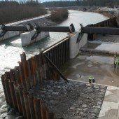 Illspitz-Kraftwerk für Hochwasser gerüstet