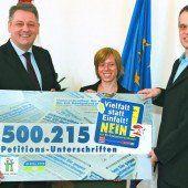 Über 500.000 lehnen Saatgutverordnung ab