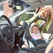 Kriege graue Haare, wenn ich Kinder im Auto rumtollen sehe