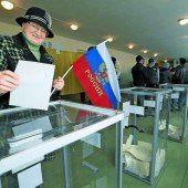 Ukraine hält auch nach Votum an der Krim fest