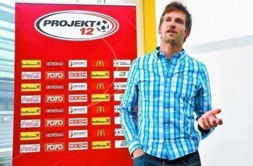 Neuer Cheftrainer der Leichtathleten: Philipp Unfried. Foto: gepa
