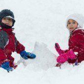 Der Winter kehrt für ein kurzes Gastspiel zurück