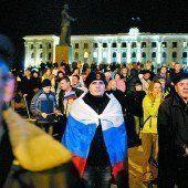 Krim: Schlagabtausch mit Sanktionen