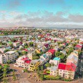 Islands trendige Hauptstadt Reykjavik