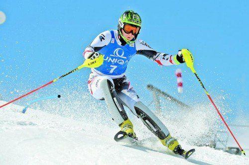 Routinier Reinfried Herbst fuhr in Gaschurn zu seinem zweiten österreichischen Meistertitel im Slalom. Foto: gepa
