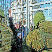 Krim unter russischer Kontrolle