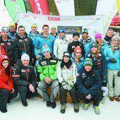 Ein Treffpunkt der Ski-Asse