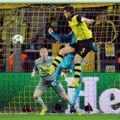 Dortmund trotz 1:2-Niederlage im Viertelfinale