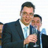 Serbien-Wahl: Vucic räumt ab