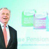Daten für Pensionskonto gefordert