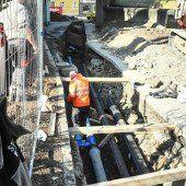 Mühletorplatz in Feldkirch bleibt noch gesperrt